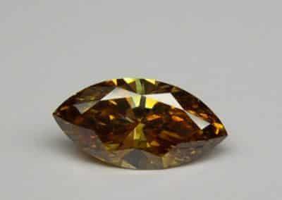 Diamant naturel Fancy deep Brownish Orange - Fancy deep Brownish Orange natural diamond