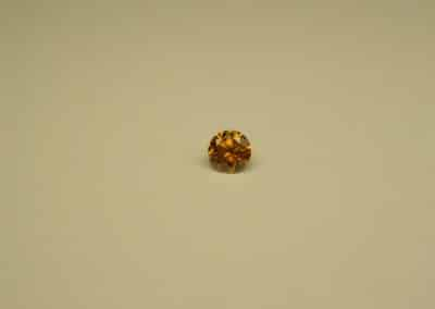 Diamant naturel Fancy intense Yellow Orange - Fancy intense Yellow Orange natural diamond